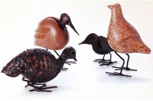 Zeepsteen vogels uit Zimbabwe