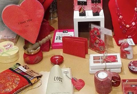 Ook voor Valentijn, moet je bij de Wereldwinkel zijn!