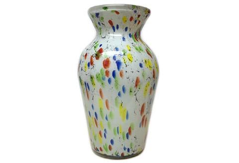 Mexicaanse geblazen glazen vaas