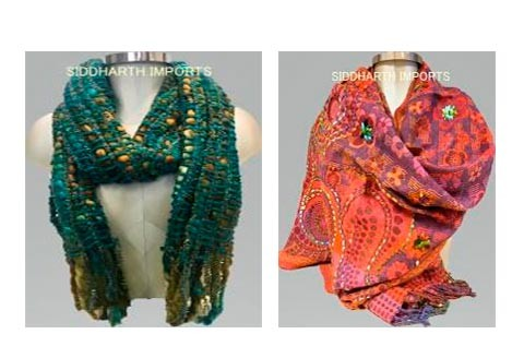 Heerlijke warme sjaals