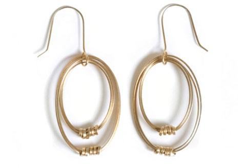 Mooie oorbellen uit Peru